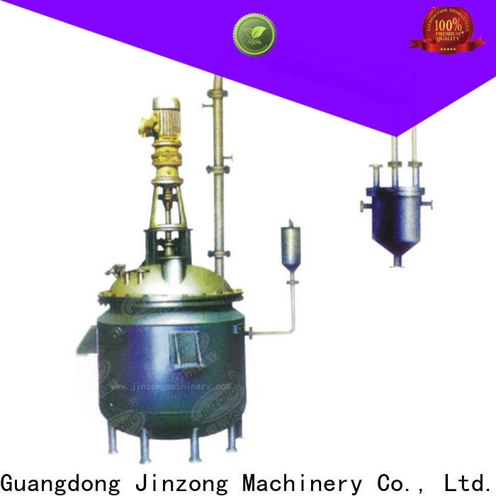 Jinzong Machinery resin high temperature reactor supply for The construction industry