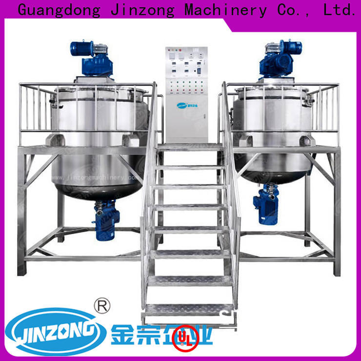 Jinzong Machinery cosmetics filling machines for cosmetic creams & lotions factory for nanometer materials