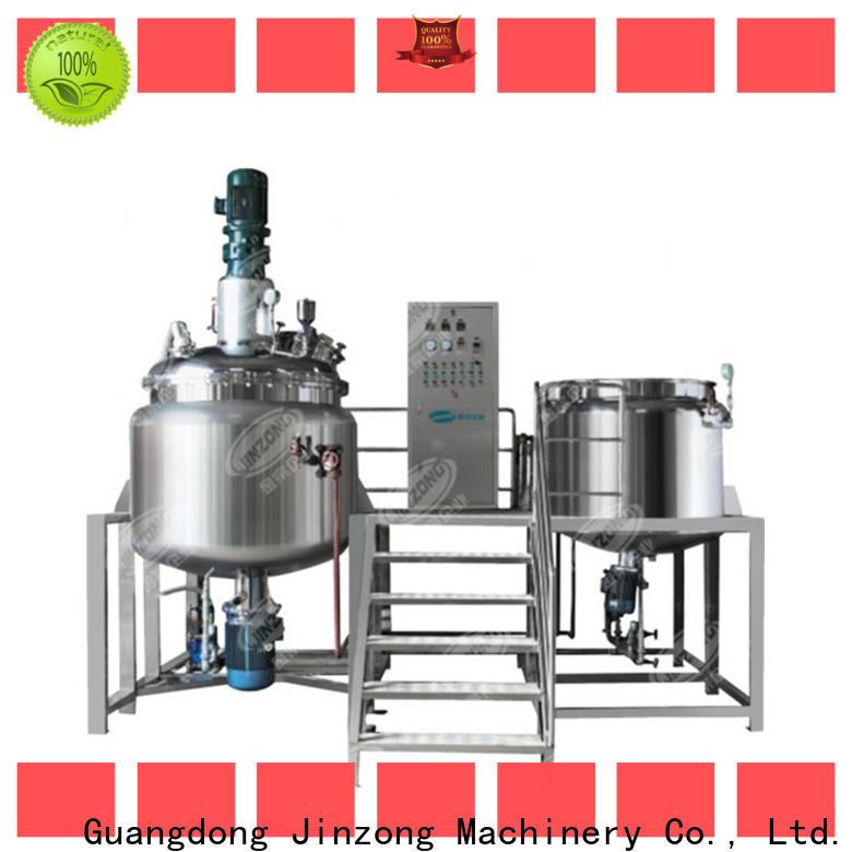 Jinzong Machinery quenching reactor suppliers for reaction