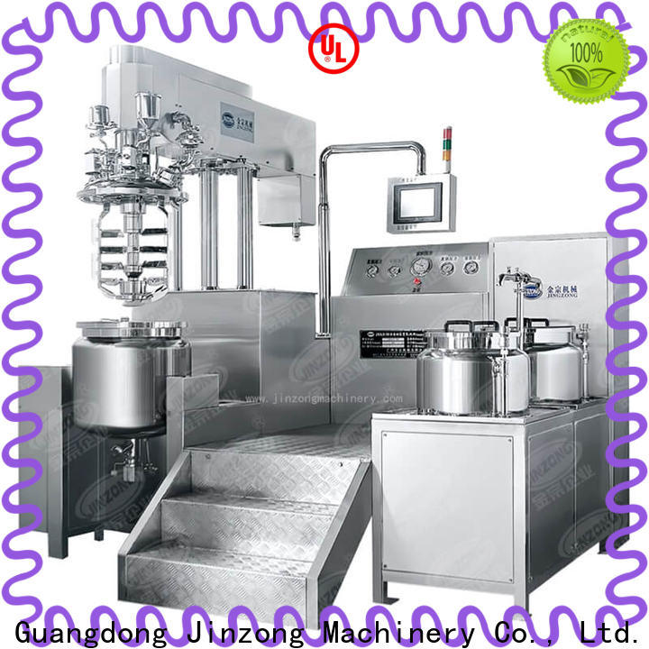 Jinzong Machinery ointment syrup liquid manufacturing vessel for business for pharmaceutical