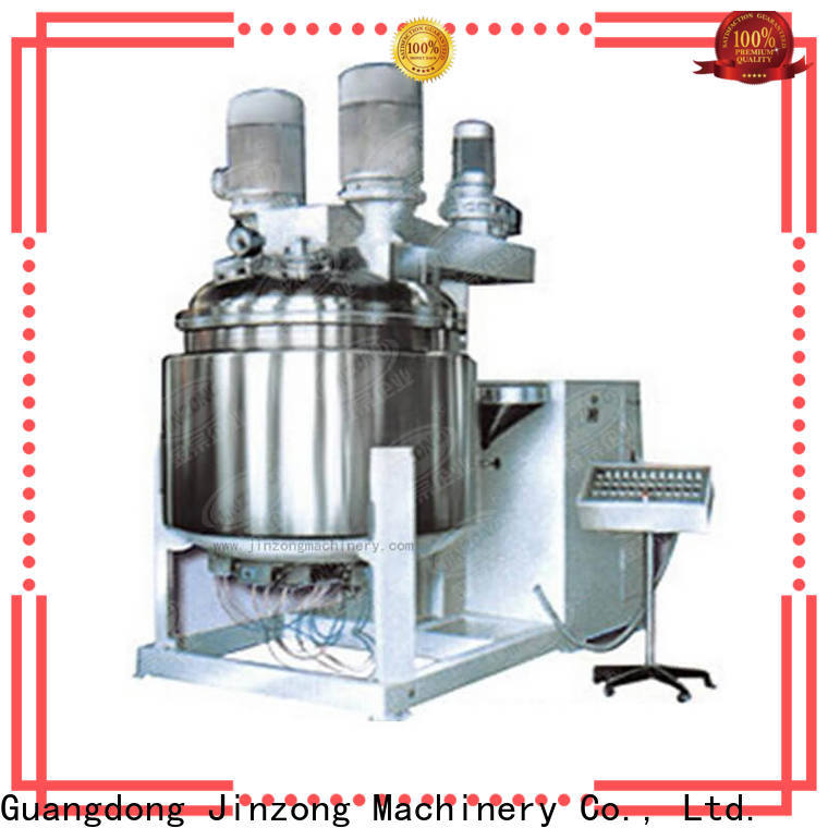 Jinzong Machinery latest cosmetic mixer machine company for food industry
