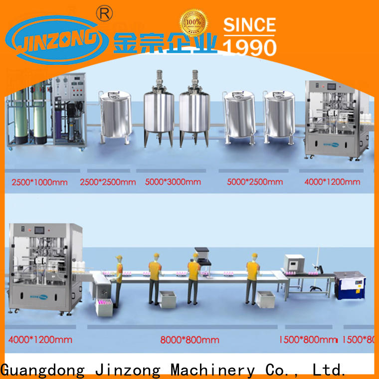 Jinzong Machinery tank lotion filling machine high speed for paint and ink