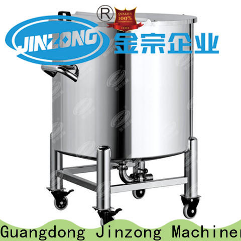 Jinzong Machinery New distillation concentrator for business for reaction