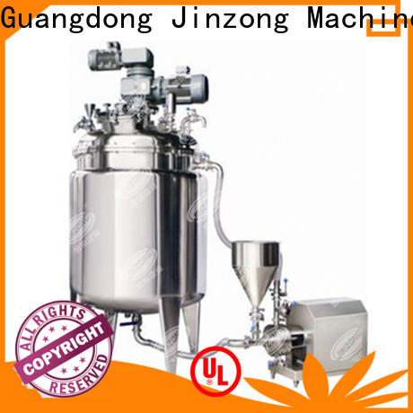 Jinzong Machinery latest glass lined mixing tank online for reflux