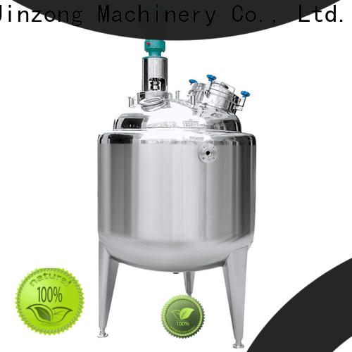 Jinzong Machinery good quality pharmaceutical concentration machine company for reaction
