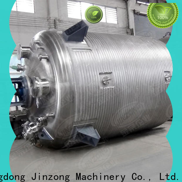 Jinzong Machinery chemical resin reactor factory for stationery industry