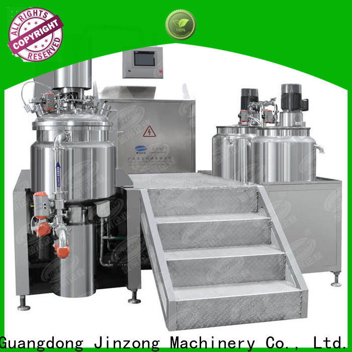 Jinzong Machinery machines emulsifying mixer manufacturers for paint and ink