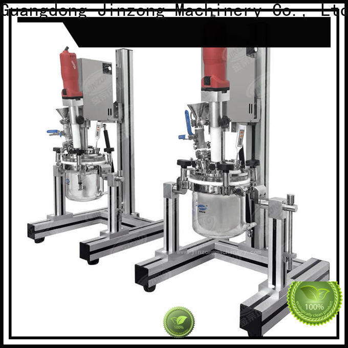 Jinzong Machinery cream lotion filling machine company for food industry