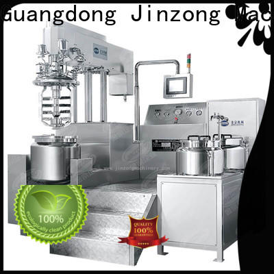 Jinzong Machinery machine sugar melting tank supply for reaction