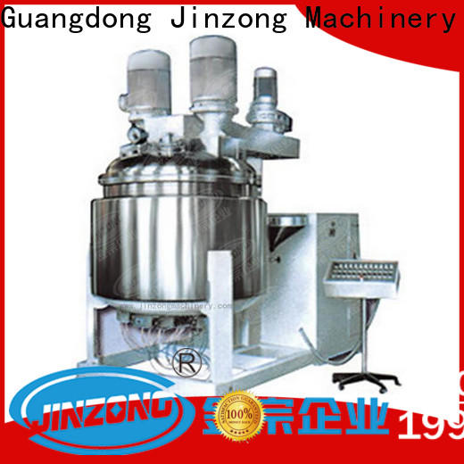 Jinzong Machinery practical cosmetic cream manufacturing equipment supply for nanometer materials