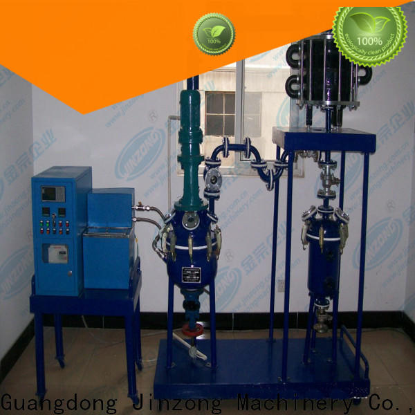 Jinzong Machinery exchangercondenser laboratory reactor company for stationery industry