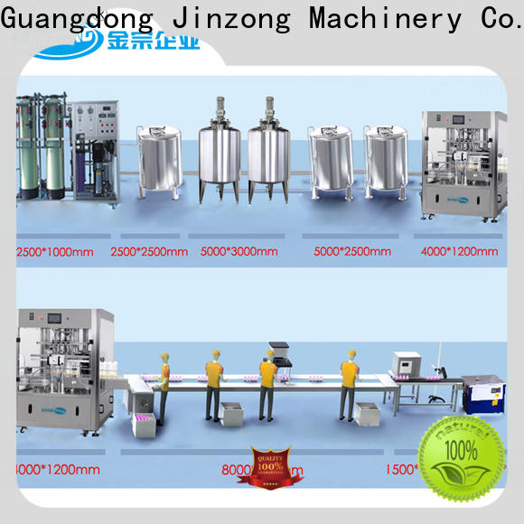 Jinzong Machinery utility mix tank supply for food industry