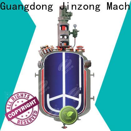 Jinzong Machinery vacuum Hydrolysis reactor manufacturers for reaction