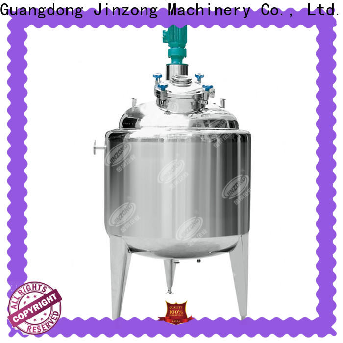 Jinzong Machinery reactor series for reflux