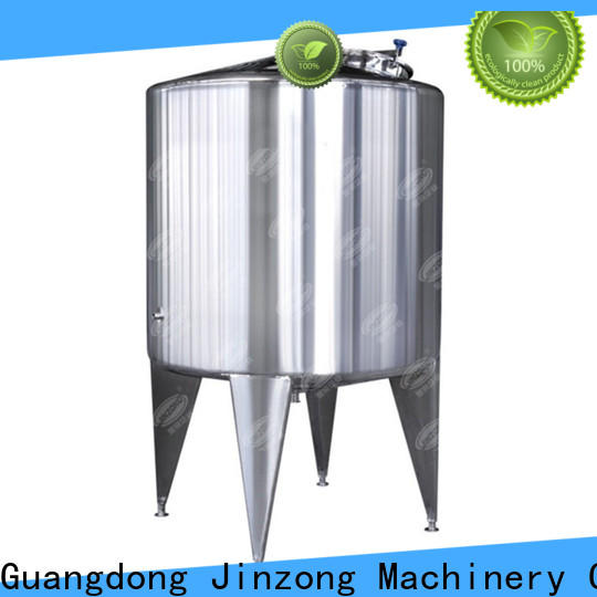 Jinzong Machinery making syrup liquid manufacturing vessel series for food industries