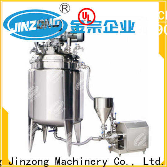 Jinzong Machinery pharmaceutical API manufacturing machine suppliers for reflux