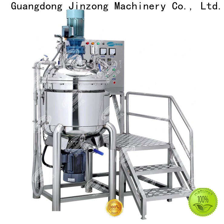 Jinzong Machinery best syrup liquid manufacturing vessel company for pharmaceutical