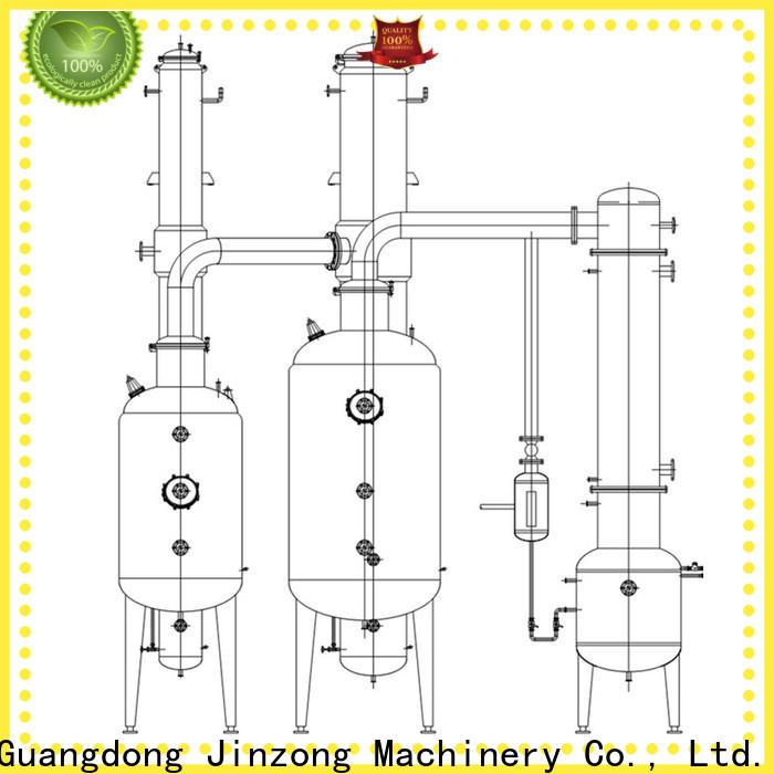 Jinzong Machinery vacuum pharmaceutical API manufacturing machine manufacturers for reaction