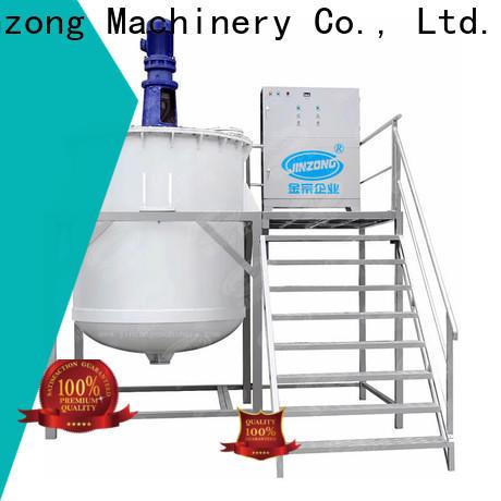 Jinzong Machinery wholesale Shampoo making machine company for nanometer materials