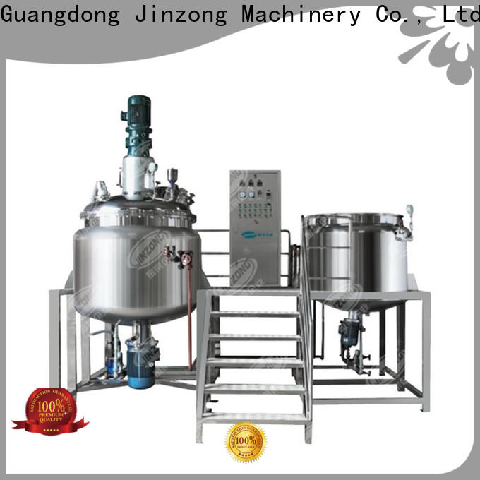 Jinzong Machinery yga Mayonnaise manufacturing plant factory for reaction
