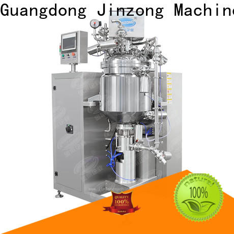 Jinzong Machinery jr pharmaceutical large infusion preparation machine system supply for reaction