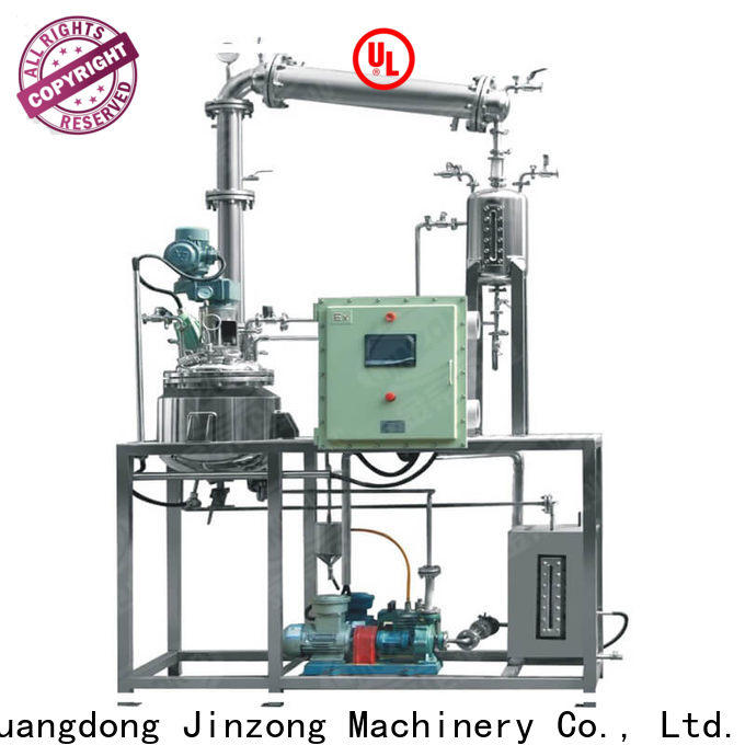 Jinzong Machinery custom reactor technology Chinese for stationery industry