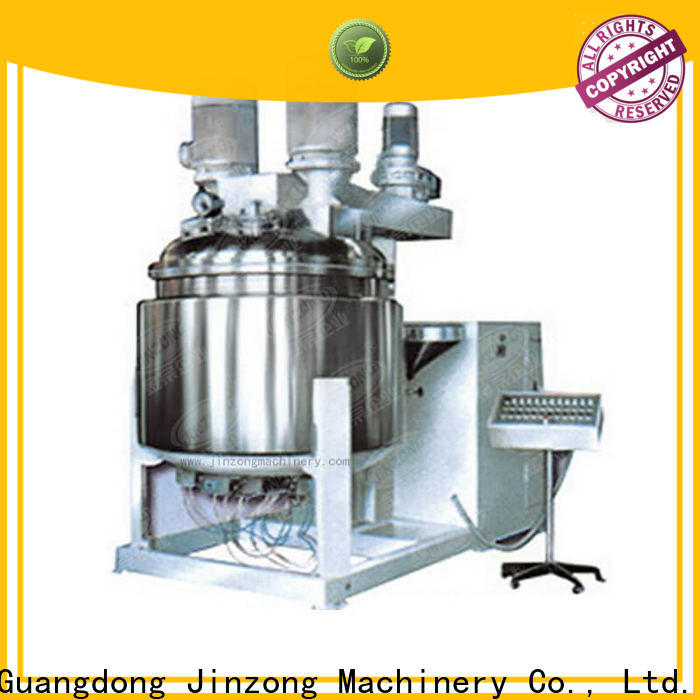 Jinzong Machinery latest mix tank supply for food industry