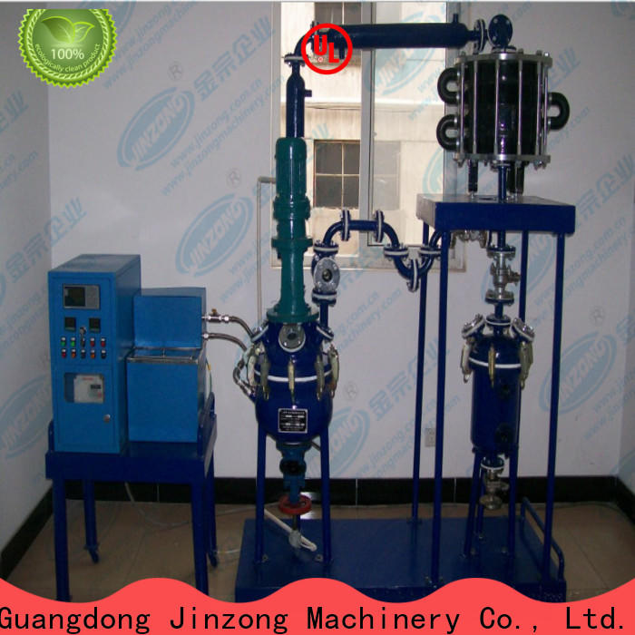 Jinzong Machinery anticorrosion chemical reactor manufacturers for The construction industry