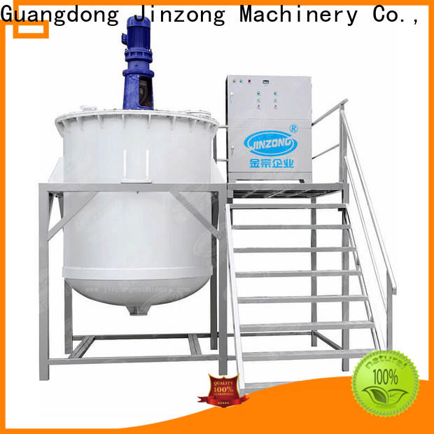 Jinzong Machinery double cosmetic filling equipment suppliers for food industry