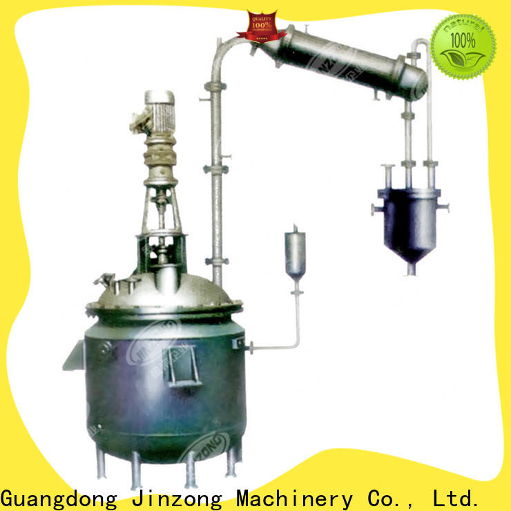 Jinzong Machinery high-quality pharmaceutical concentration machine supply for reflux