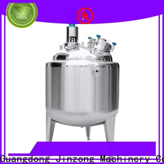 Jinzong Machinery multi function Pasteurization tank company for reflux
