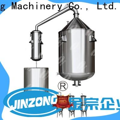 Jinzong Machinery vacuum syrup manufacturing tank for business for reaction