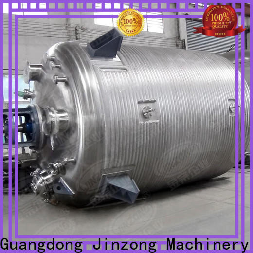 Jinzong Machinery speed what is reactor supply for reaction