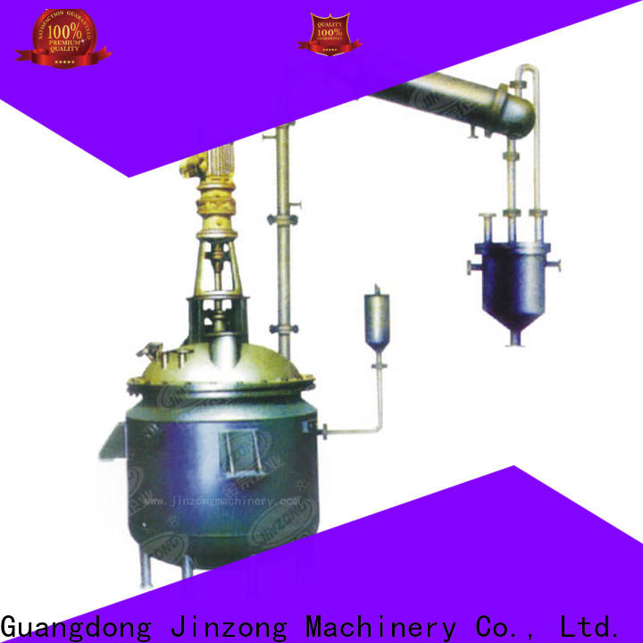 Jinzong Machinery professional chemical reactor supply
