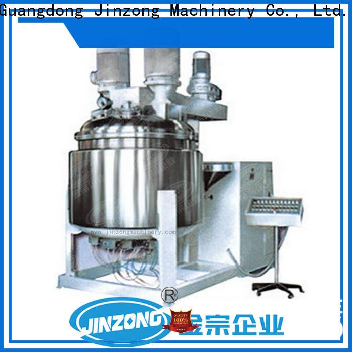 Jinzong Machinery latest cosmetic cream filling machine company for nanometer materials