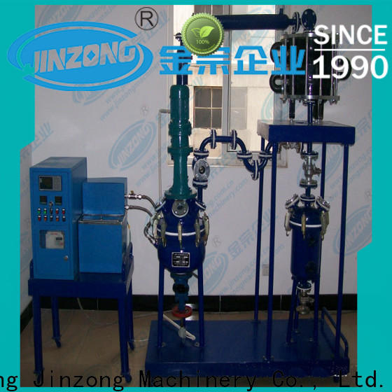 Jinzong Machinery coil resin reactor on sale for distillation
