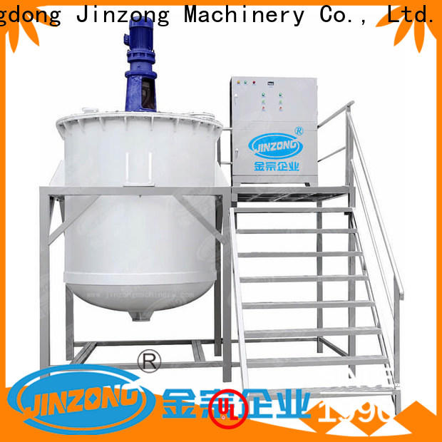 Jinzong Machinery top stainless steel mixing tank for business for nanometer materials