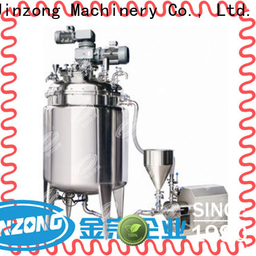 Jinzong Machinery accurate Pasteurizer company for reaction