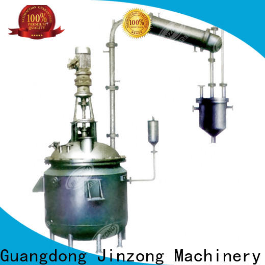 Jinzong Machinery vacuum oral liquid manufacturing tank manufacturers for reaction