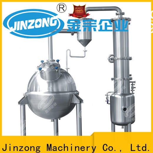 Jinzong Machinery jr oral liquid manufacturing vessel factory for reaction
