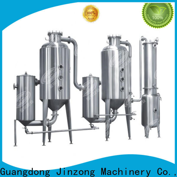 Jinzong Machinery best sale falling film evaporator, for sale for reflux