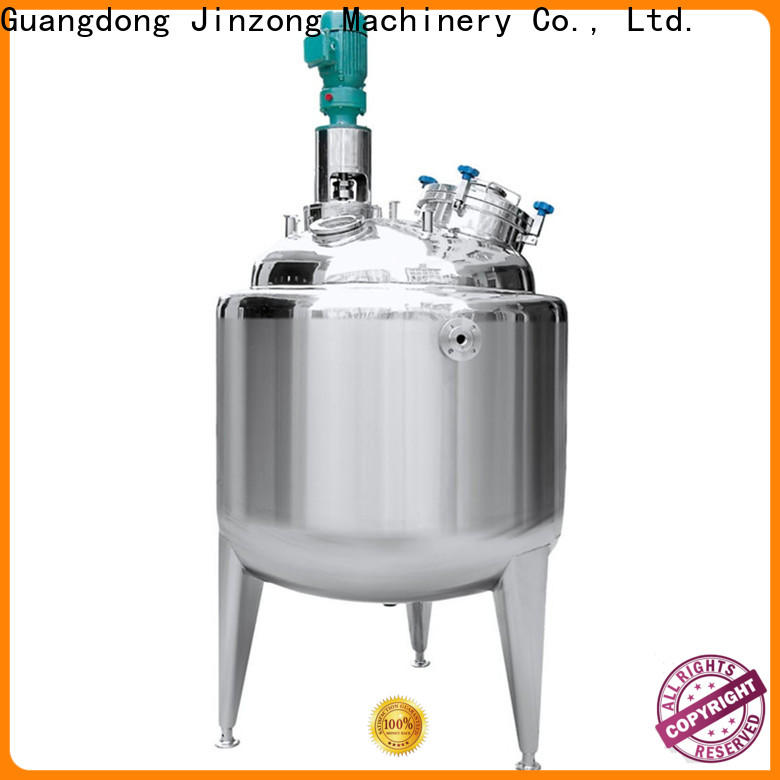 Jinzong Machinery jr evatoration concentrator manufacturers for reaction