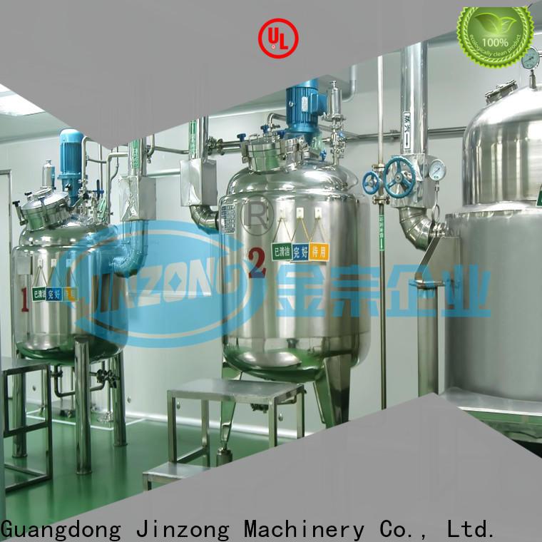 Jinzong Machinery machine distillation evaporator online for reflux