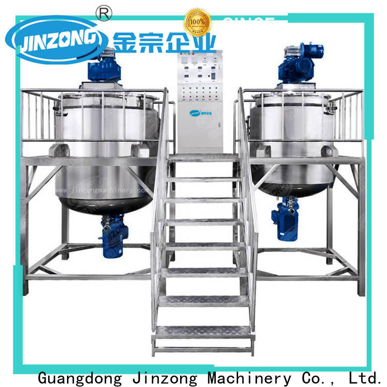 Jinzong Machinery toothpaste stainless steel tank wholesale for petrochemical industry