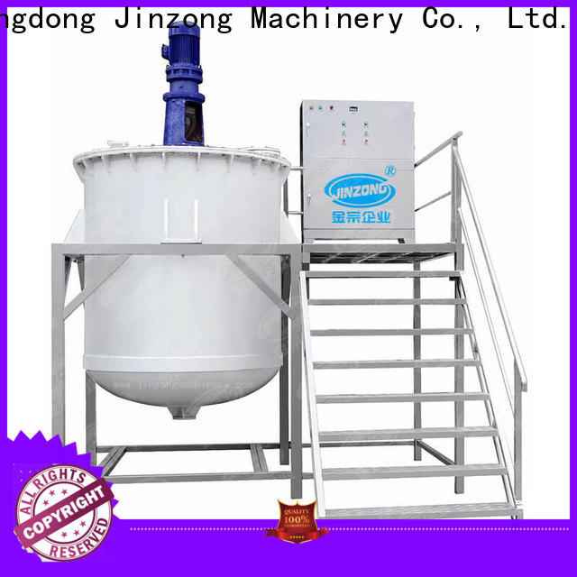 Jinzong Machinery practical equipment for cosmetic production online for paint and ink