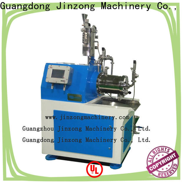Jinzong Machinery latest horizontal sand mill high speed for workshop