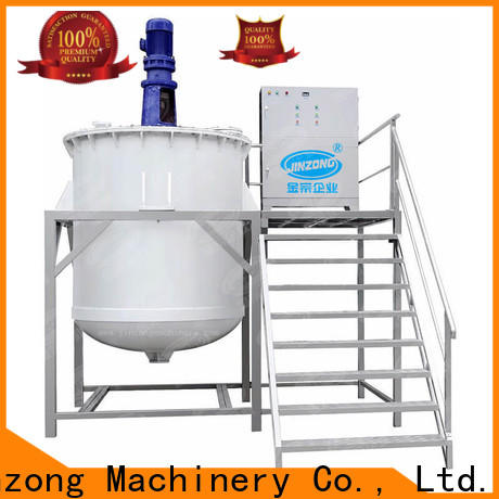 Jinzong Machinery power cosmetic manufacturing equipment high speed for food industry