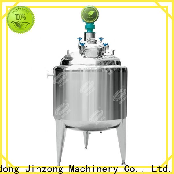 Jinzong Machinery jr oral liquid manufacturing vessel online for reflux