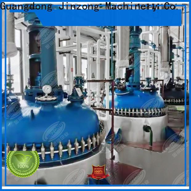 Jinzong Machinery good quality emulsifying mixing machine manufacturers for reaction
