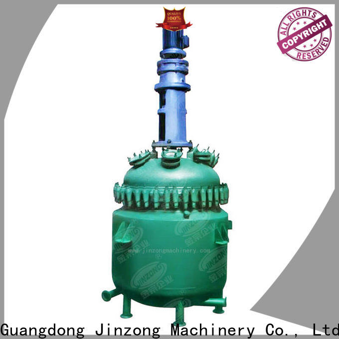 Jinzong Machinery ss hot melt adhesive reactor suppliers for The construction industry